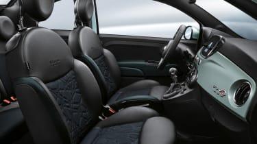 Fiat 500C mild hybrid seats