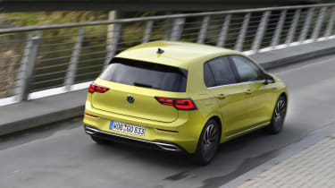 2020 Volkswagen Golf - rear 3/4 dynamic driving