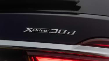 BMW X7 SUV badge