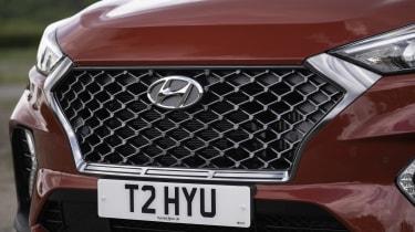 Hyundai Tucson N Line - front grille