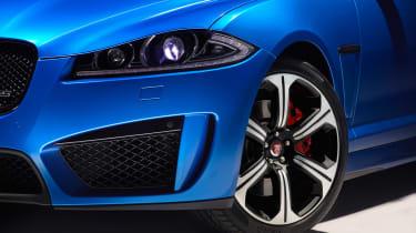 Jaguar XFR-S Sportbrake air intake