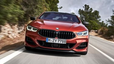 BMW M850i front on close up