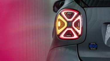 Smart EQ ForTwo - rear LED light detail