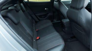 2021 Vauxhall Mokka - rear seats