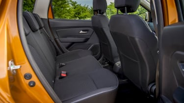 2018 Dacia Duster rear seat