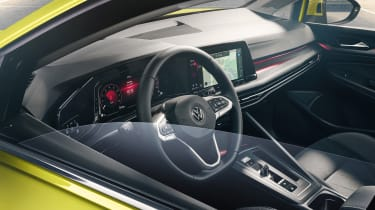 2020 Volkswagen Golf interior - taken from outside