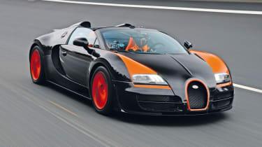 Bugatti Veyron Grand Sport Vitesse 2013 front tracking