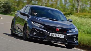 Honda Civic Type R Sport Line front cornering
