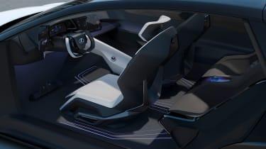 Lexus LF-Z concept - interior 3/4 angle