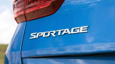 Kia Sportage SUV rear lights