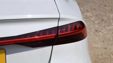 Audi S7 hatchback rear lights
