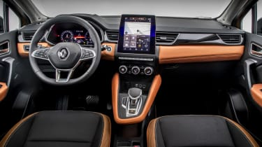 2020 Renault Captur - interior and dashboard