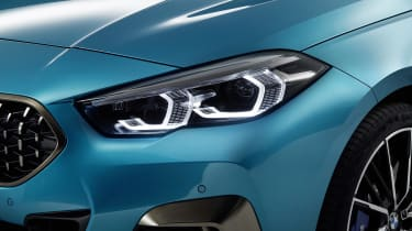 2020 BMW 2 Series Gran Coupe M235i xDrive - front flank and headlight view