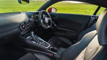 Audi TT Coupe interior