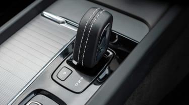 Volvo XC60 SUV gear selector