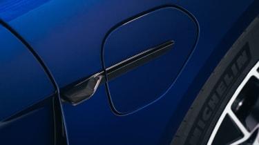 2020 Porsche Taycan - charging port closed