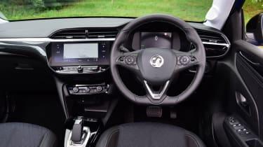 Vauxhall Corsa-e hatchback interior