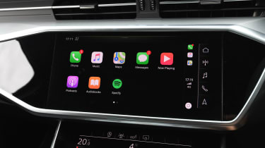 Audi A6 saloon Apple CarPlay