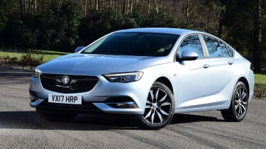 Drivers in the latest Insignia sit 3cm lower than they did in the old car,