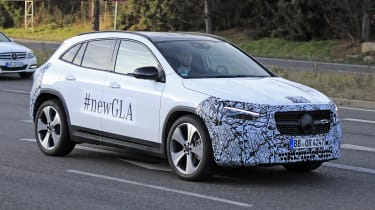 Mercedes GLA spy shot