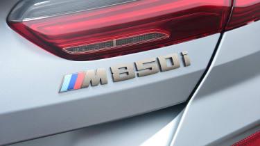 BMW 8 Series Gran Coupe saloon rear badge