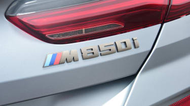BMW 8 Series Gran Coupe saloon rear badge