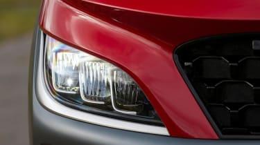 Hyundai Kona Hybrid SUV headlights