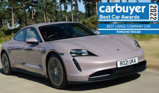 Best Large Company Car: Porsche Taycan