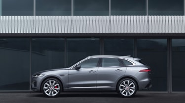 2020 Jaguar F-Pace - side on static view