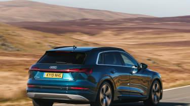 Audi e-tron - front 3/4 dynamic view
