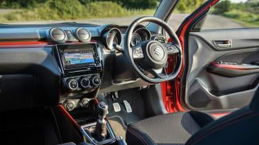Suzuki Swift Sport mild-hybrid interior