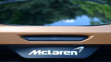McLaren GT badge