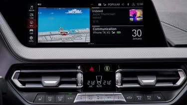 BMW 2 Series Gran Coupe saloon infotainment display