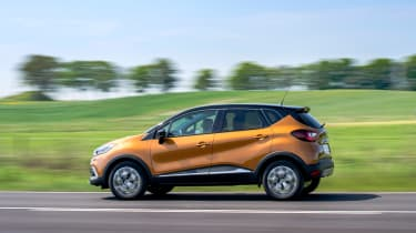 The Captur is 60mm longer than the Renault Clio, so there's more rear legroom, while the rear seats can slide backwards and forwards to free up more space inside the cabin or in the boot.