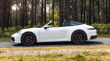 Porsche 911 Targa side static