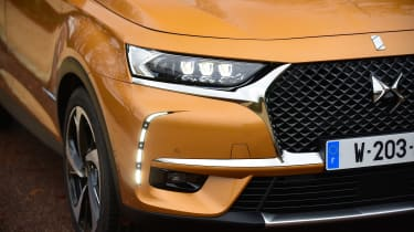 The DS 7 Crossback was awarded a five-star score in Euro NCAP crash tests
