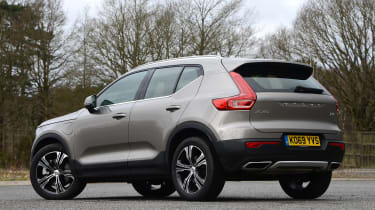 Volvo XC40 SUV rear 3/4 static