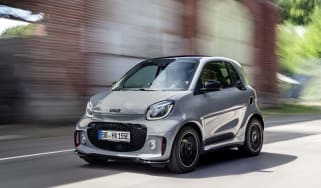 Smart EQ ForTwo - Dynamic front 3/4 view