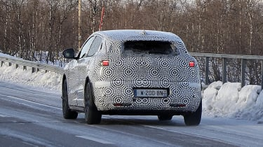 Electric Renault Megane crossover prototype - rear end