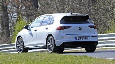 Volkswagen Golf R prototype - rear view