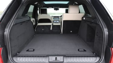 Range Rover Sport SUV boot