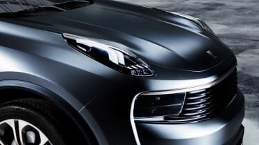 Lynk & Co has also shown off a concept saloon called the 03, but it's not yet clear where the 02 is