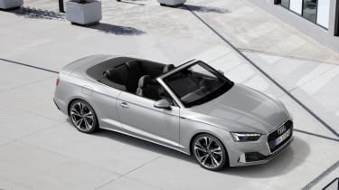 Audi A5 Cabriolet top view