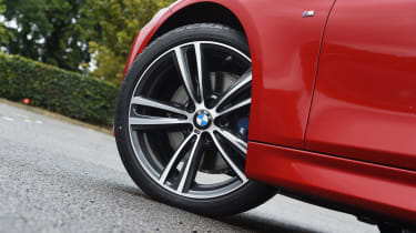 Alloy wheels are standard across the range