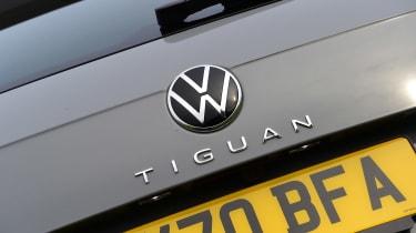 Volkswagen Tiguan SUV rear badge