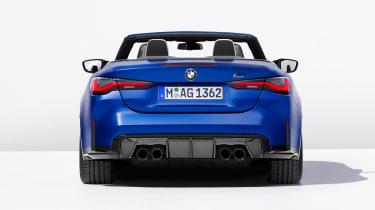2021 BMW M4 Competition Convertible M xDrive - rear view