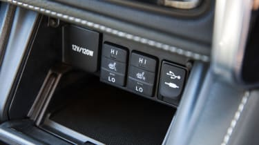 On cold mornings, the heated driver and passenger seats are a welcome feature