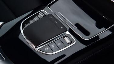 Mercedes GLC SUV centre console