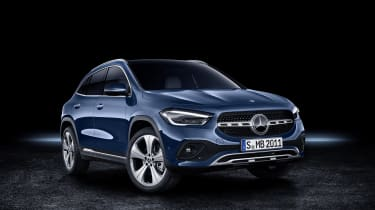 Mercedes GLA in blue