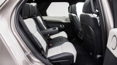 Land Rover Discovery SUV rear seats